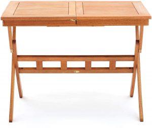 Tavolo da giardino pieghevole