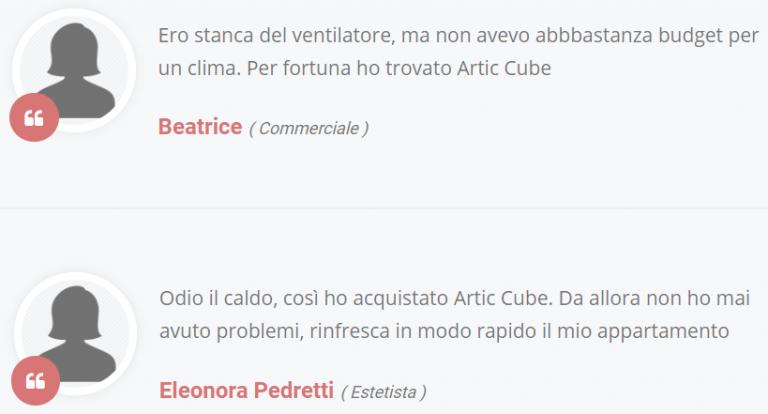 Artic Cube recensione